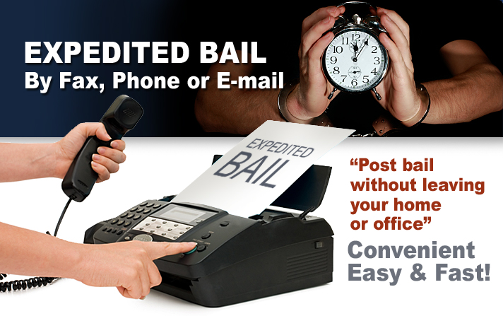 """Post bail without leaving your home or office"" Convenient, Easy & Fast."